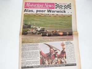 MOTORING NEWS 1982 July 22 British GP, F3, BTCC, Border counties Rally, F2